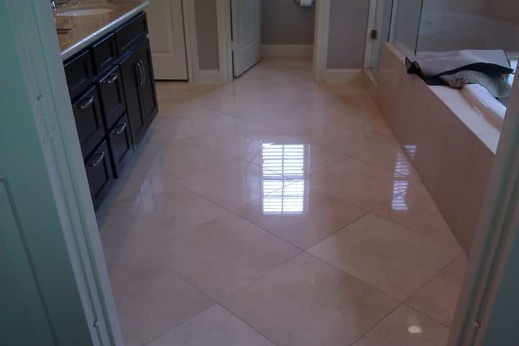 How To Clean Marble Floors in a Bathroom