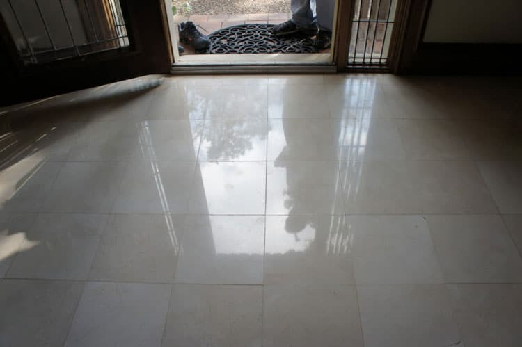 Marble Floor Restoration in Houston