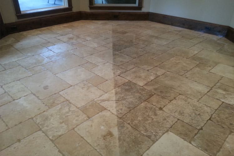 Travertine Floor Cleaning Professionals in Houston