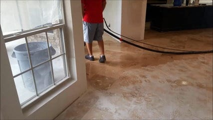 Restore Travertine After Flood Houston