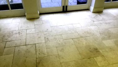 Sealing Limestone Floors in Houston