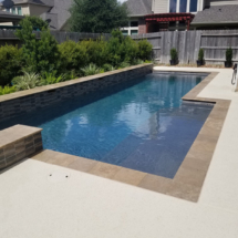 sealed pool coping