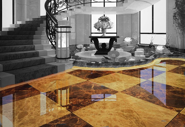 Holiday Floor Restoration Services in Houston TX
