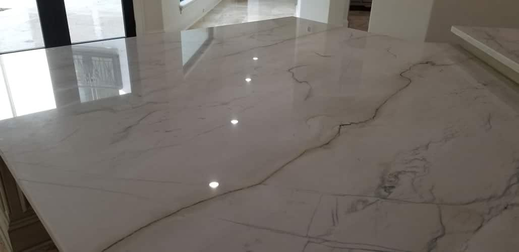 Cloudy Natural Stone Repair in Houston