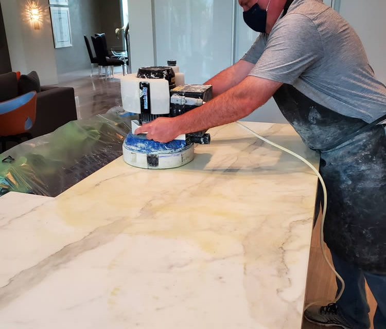 How To Clean Stained Stone Countertops
